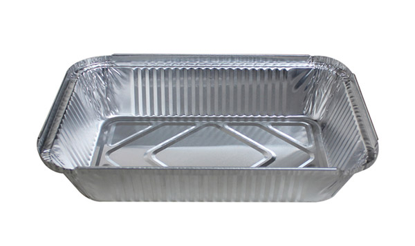 large foil container