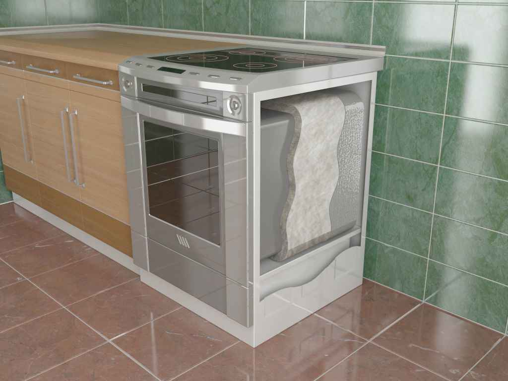how an oven has insulation properties